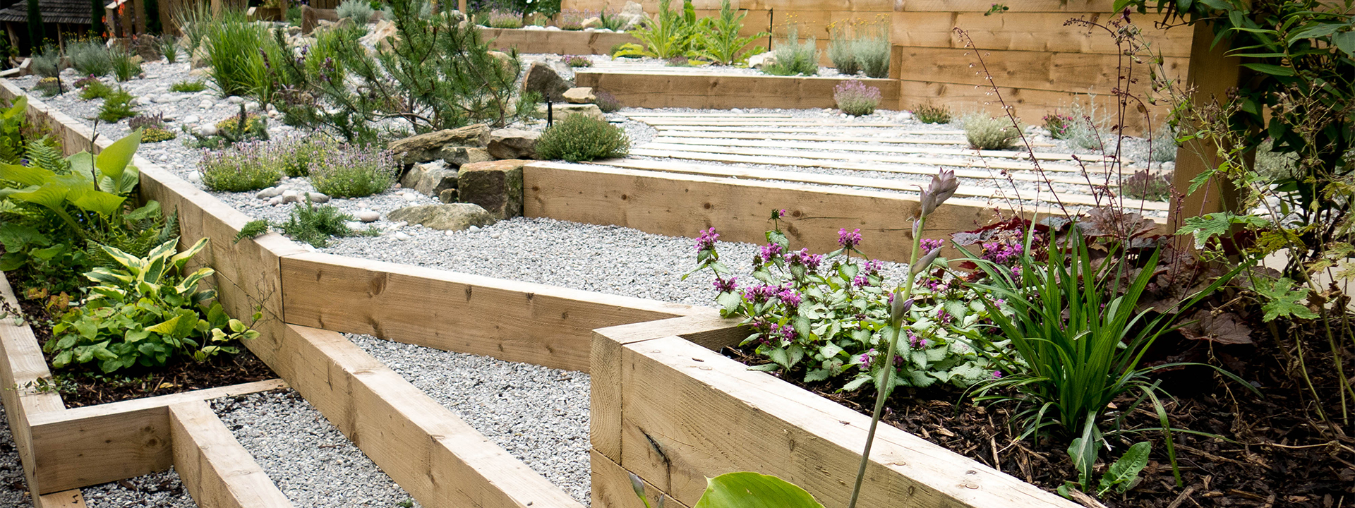 Sloping Garden Ideas | Yorkshire Gardens on Sloping Garden Ideas id=26850