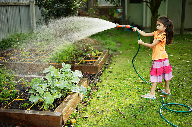 Getting Kids Into Gardening